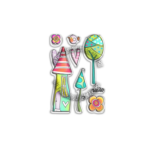 Sweet Smile - Clear Polymer stamp set