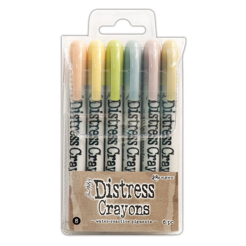 Distress Crayons Set 8