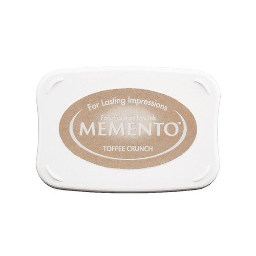 Toffee Crunch Memento Ink Pad