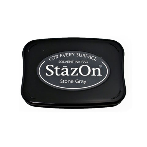 Stone Grey StazOn Ink Pad