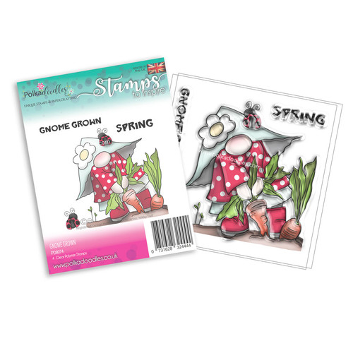Gnome Grown - 4 Clear Stamps