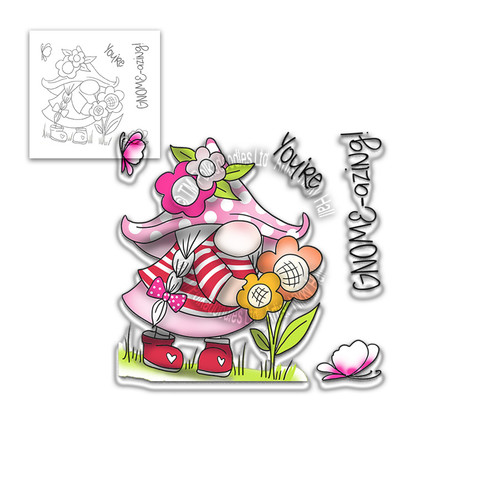 You're Gnome-azing - 5 Clear Stamps