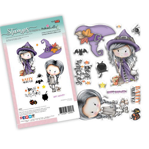 Best Witches Winnie Wednesday clear stamp set