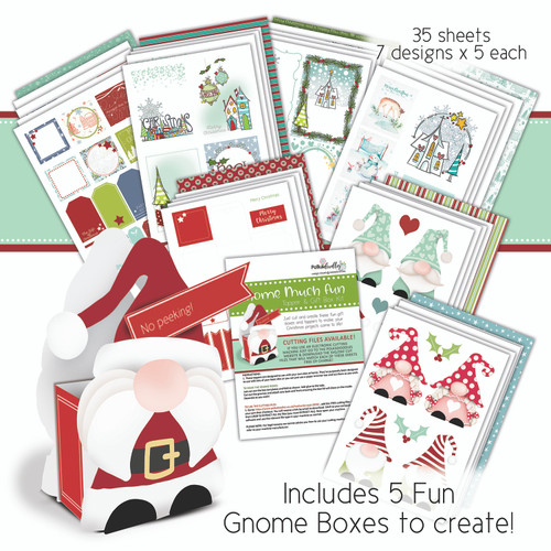 Gnome Much Fun - Toppers & Gift Boxes