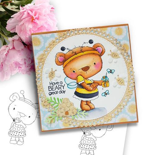 Too Cute Agnes & Bella digi stamp & SVG/DXF Cutting File bundle
