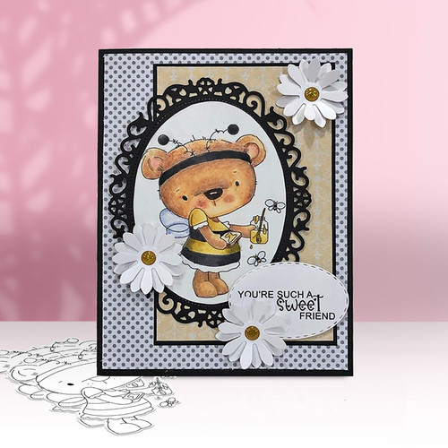 Too Cute Agnes & Bella digi stamp & SVG/DXF Cutting File Big Kahuna bundle