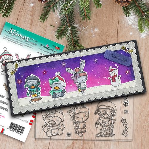Snowball Kisses stamp set (PD8095A)