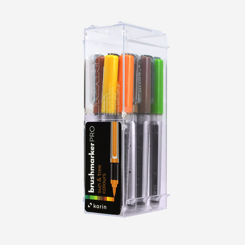Karin Brushmarker Pro 12 pcs Set  - Sun and Tree colors