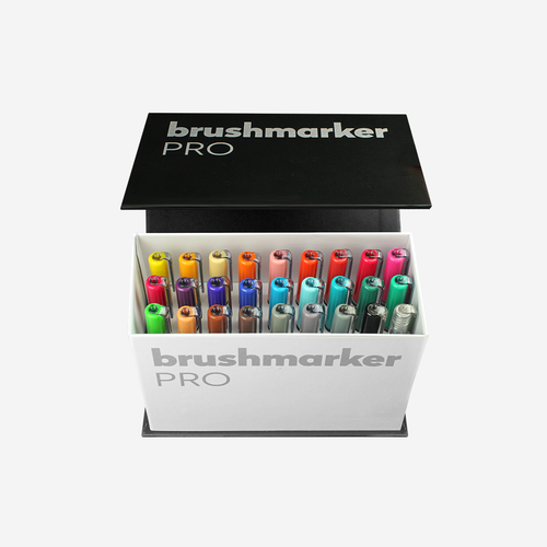 Karin Brushmarker Pro Mini Box 26 Color Set +1 blender