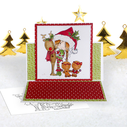 Christmas Candy - Winnie North Pole download including SVG file