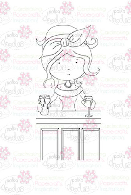 Landlady/Barmaid digital stamp download