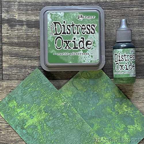 Rustic Wilderness  Distress Reinker - Tim Holtz. Re-Inkers can be used to re-ink Distress Ink Pads, which are sold separately. Is your inkpad going dry? Simply drip new ink onto the pad to reinvigorate it again. Eco friendly. You can also use reinkers to colour - just use a paintbrush with the ink!  Re-Inkers are available in 0.5oz amber glass bottle with an eye drop applicator Acid Free Non-Toxic Fade Resistant