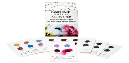 Daniel Smith Confetti Dot Watercolour Card set