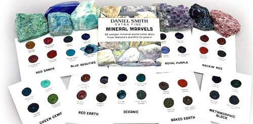 Daniel Smith Mini Marvels Dot Watercolour Card set