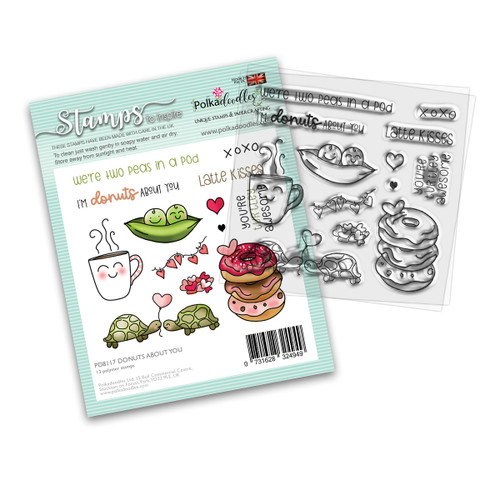 "Donuts About You 4 x 4"" stamp set"
