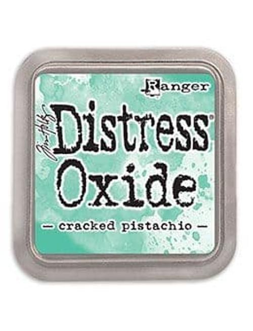 "Cracked Pistachio Distress Oxide Inkpad 3 x 3"""