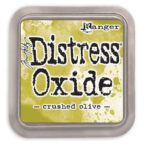 Crushed Olive Distress Oxide Inkpad 3 x 3""