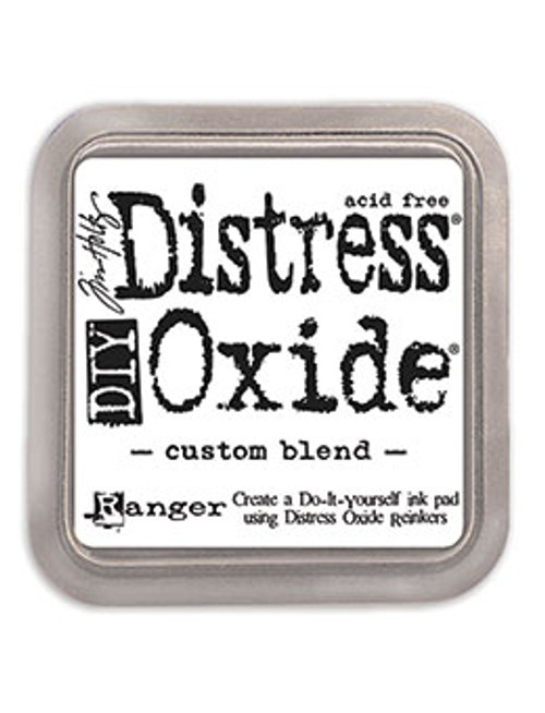 RANGER DIY DISTRESS OXIDE INK PAD 3IN X 3IN BY TIM HOLTZ/CUSTOM BLEND 3 X 3""
