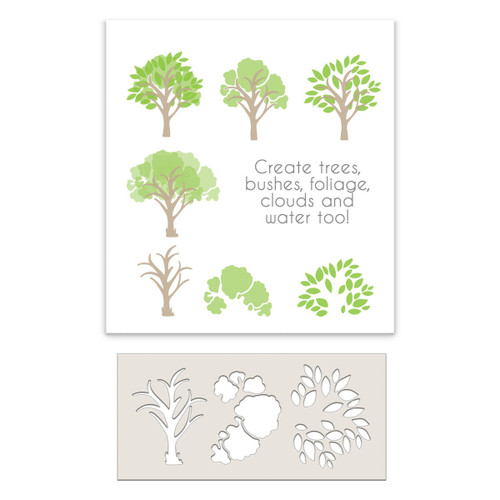 Tree-mendous craft Stencil examples of how many things you can create