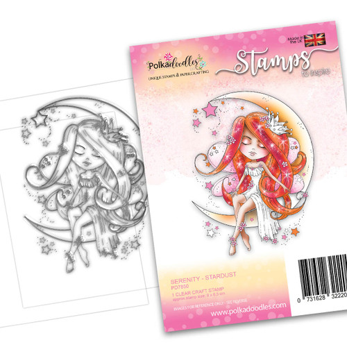 SERENITY Stardust - CLEAR POLYMER STAMP (PD7850)