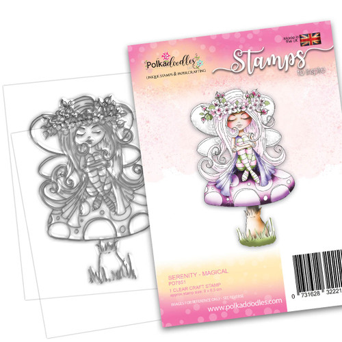 SERENITY Magical - CLEAR POLYMER STAMP (PD7851)