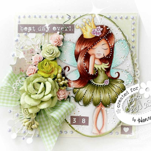 SERENITY Fairy Princess - CLEAR POLYMER STAMP (PD7852)