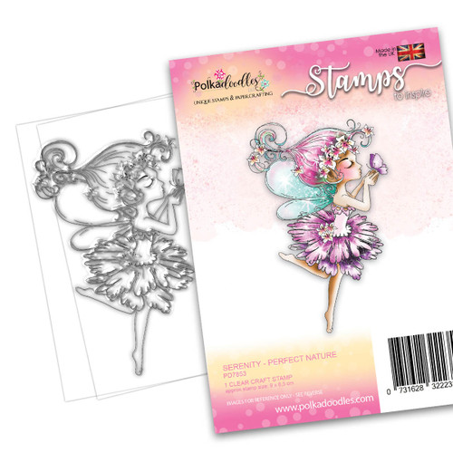 SERENITY Perfect Nature - CLEAR POLYMER STAMP (PD7853)