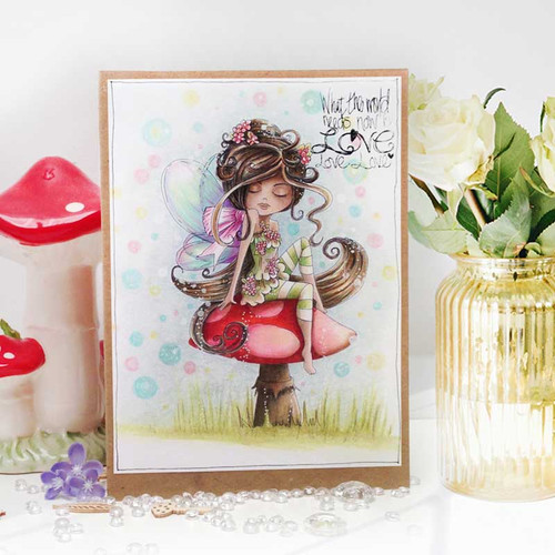 SERENITY Blossom - CLEAR POLYMER STAMP