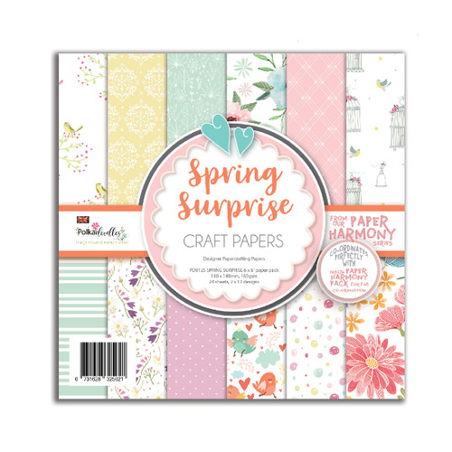 "Spring Surprise 6 x 6"" paper pack (PD8125 )"