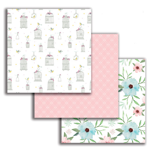 """Spring Surprise 6 x 6"""" paper pack"""