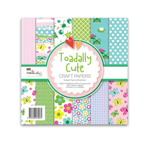 Toadally cute paper pack 6 x 6""