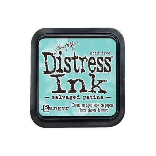 "Salvaged Patina Distress Inkpad 3 x 3"" - Tim Holtz"