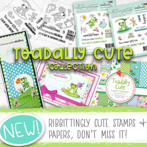 Toadally cute Card making craft collection