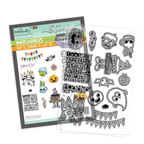 """Fang-tastic 4 x 6"""" Stamp - Matchables"""
