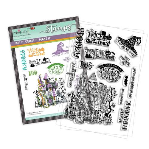 """Hocus Pocus 4 x 6"""" Stamp set"""