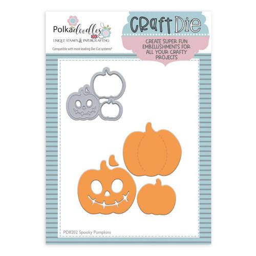 Spooky Pumpkins die set