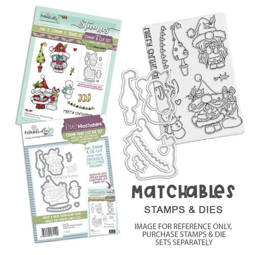 Gnome Christmas Joy Matchables Stamp set