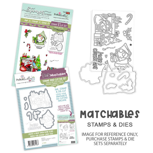 Gnome Chimney Capers Matchables Stamp set (PD8173