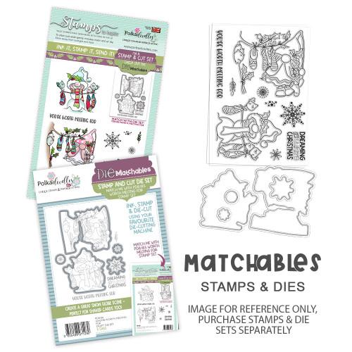 Gnome Worth Melting For Matchables Stamp set
