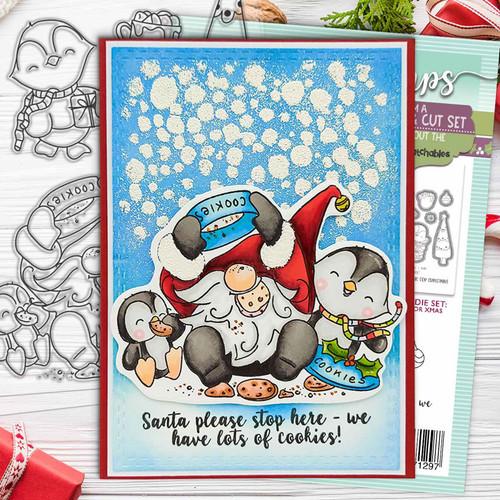 Gnome for Christmas Matchables Stamp set