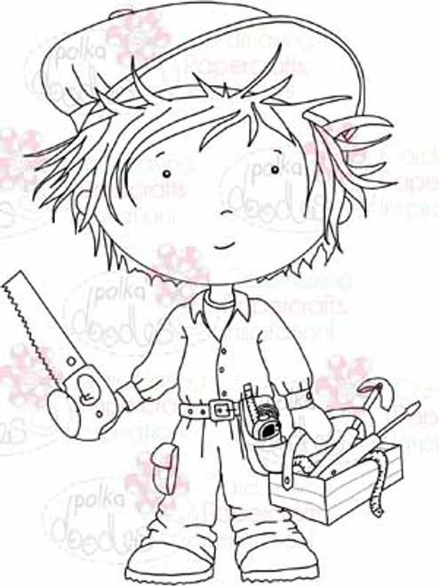 Handyman Dave digital stamp download