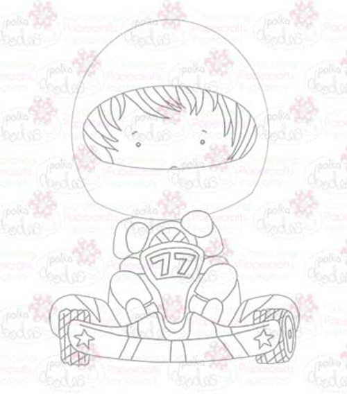 Go Karter digital stamp download