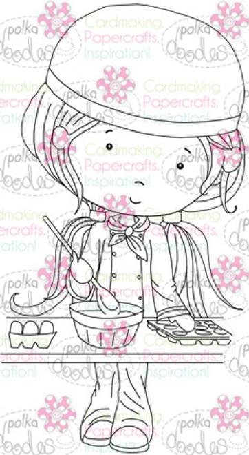 Chef/Cook/Baker/Kitchen digital stamp download