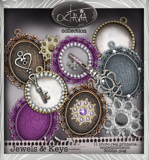 Octavia Moonfly - Jewelicious Digital Craft Download Bundle