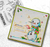 Smiley Snowman Christmas stamp collection - 5 Clear Polymer stamp set