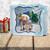 Rudolph Reindeer Wreath - Winnie North Pole digital stamp download including SVG file