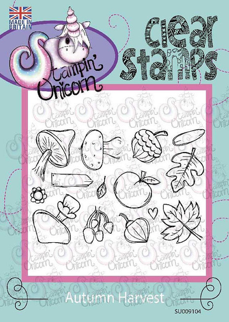 Harvest- Clear Stamp Set by Stampin Unicorn