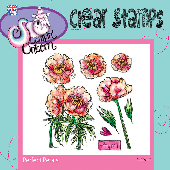 Perfect Petals - Clear Stamp Set