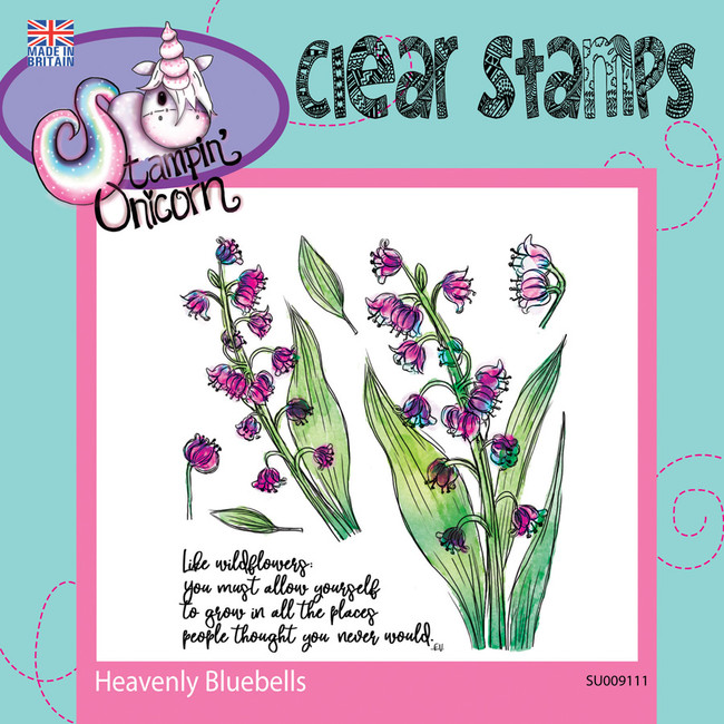 Heavenly Bluebells - Clear Stamp Set