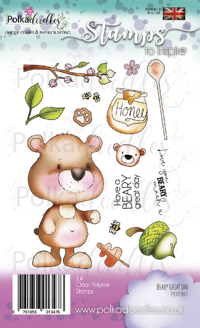 Beary Great Day Clear Stamp set